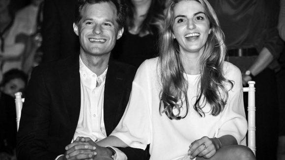 Lili Radu mit ihrem Mann Patrick, die gemeinsam die Marke VeeCollective herausgebracht haben.