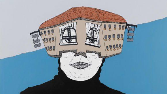 Seine Kunst vermittelt ein Gefühl von Unruhe und Instabilität: Kingslayer von Buğra Erol