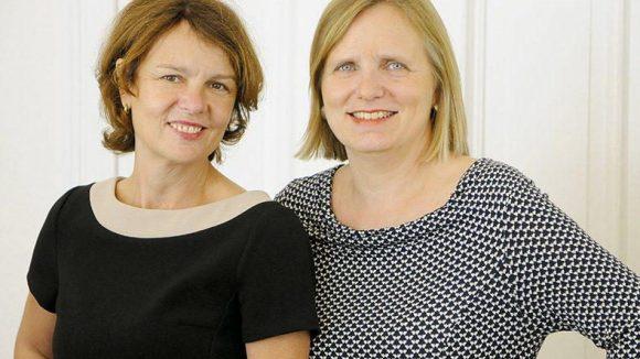 Steuerbüro Scheel: Brigitta Scheel, Gründerin (rechts) und Birgit Matz, Geschäftsführerin (links)