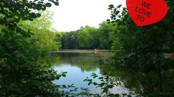 Wenn das mal nicht romantisch ist: der lauschige Neue See im Tiergarten.