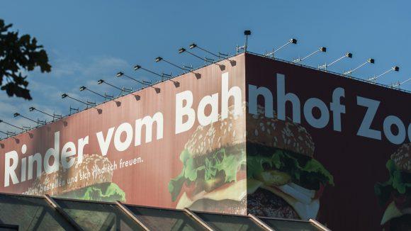 Werbung ist bereits fester Bestandteil des Berliner Stadtbilds.