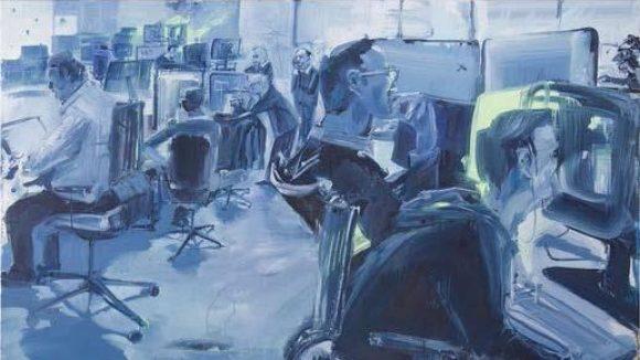 """Adam Noacks """"welcome to sky valley"""" widmet sich dem, was in unserer Gesellschaft zu viel ist. Zu sehen in der Galerie Eigenheim."""