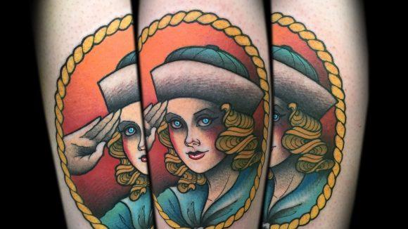 Ahoi! Frauenfiguren ziehen sich wie ein roter Faden durch Myras Portfolio.
