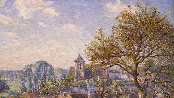 Paul Hoeniger - Blick auf die Stadt in der Galerie Barthelmess & Wischnewski