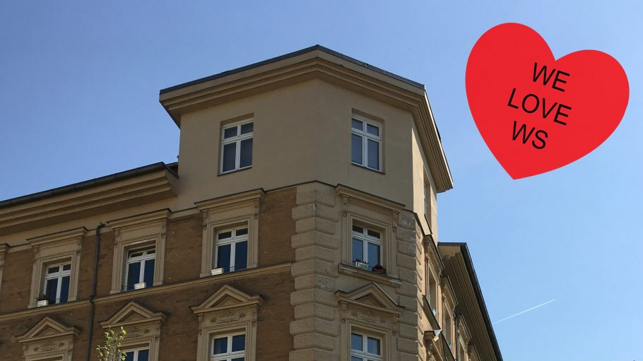 Eine schöne Häuserecke aus der Gründerzeit.