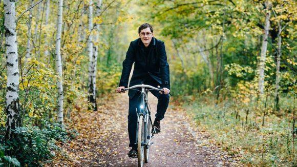 Auch auf zwei Rädern macht Daniel Achilles eine gute Figur. ©Nils Hasenau