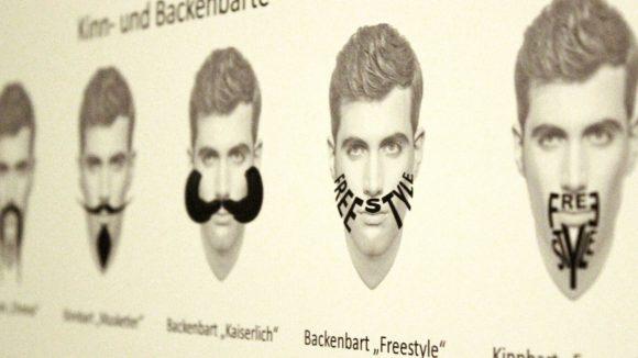 Auf der Suche nach einem neuen Style? Auch da hilft dir das Neue Museum mit einer Bart-Typologie.