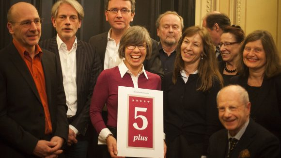 Ausgezeichnet: 5plus-Gruppe. (c) Daniel Müller