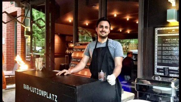 """""""The Pit"""" serviert im Sommer in der Bar am Lützowplatz. Probieren lohnt sich!"""