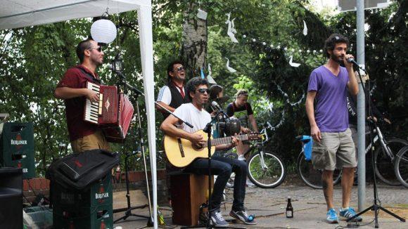 Bei der Premiere am 9. August mit Live-Musik wurde der neue Kulturort gleich gut angenommen.