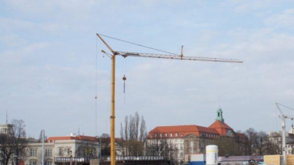 Baustelle: Strandbar Metaxa Bay / Spreelöwen