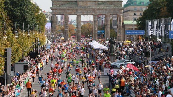 Berlin-Marathon am Brandenburger Tor. ©SCC EVENTS / PHOTORUN