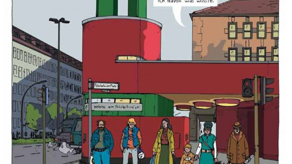 Berliner Szenen am Fehrbelliner Platz. ©Berlin Story Verlag / Jörg Mailliet & Jörg Ulbert