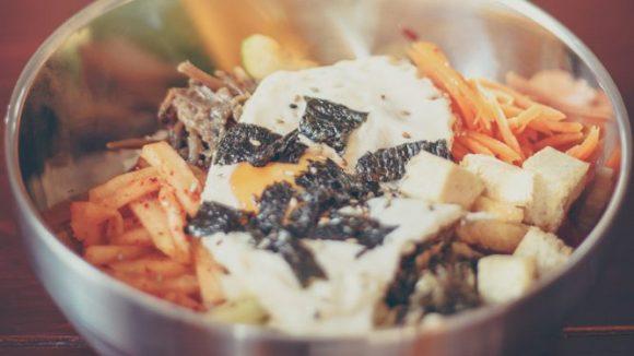 Bibimbap - mit Fleisch oder mit Tofu (c) Weber