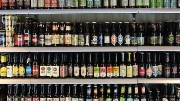 Biere aus aller Herren Länder.