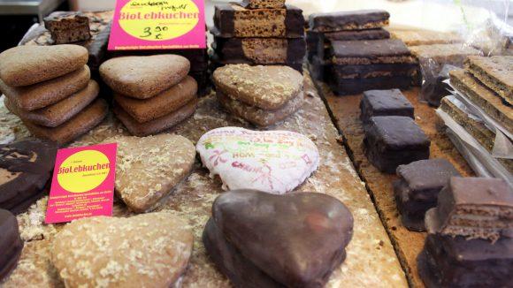 BioLebkuchen in der Markthalle Neun. ©Julia Kämmerer