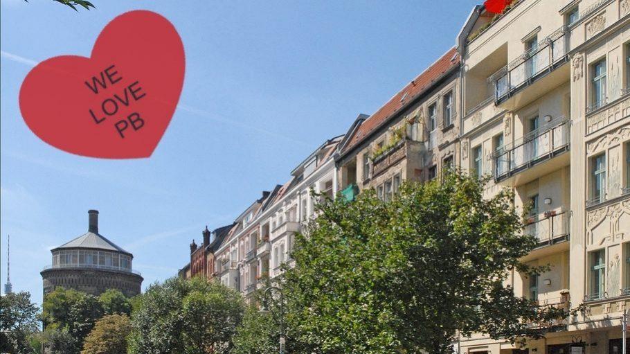 So schön ist die Rykestraße im Kollwitzkiez!