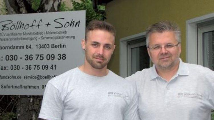 Böllhoff & Sohn helfen bei Wasserschäden | QIEZ