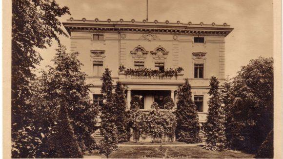 Boothstraße 16, Haus von Werner Genest, 1912.