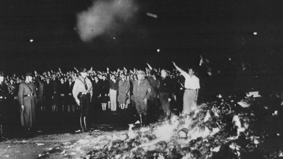 Gruselig: Der Berliner Opernplatz im Mai 1933.