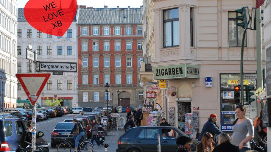 Schöne Altbauten, hippe Cafés, ein wenigTrödel und ganz viel Essen: Der Bergmannkiez in Kreuzberg 61.