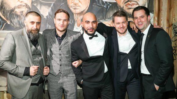 Cast und Crew feierten noch im Prince Charles. ©Brian Dowling / Getty Images for Turner Deutschland