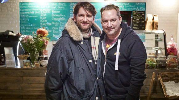 Christian Kahrmann kennt Sebastian Schwarz von Dreharbeiten zur ZDF-Serie Soko Wismar.