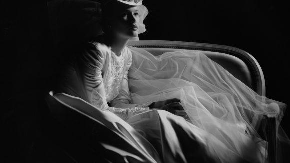 Claudia Schiffer für Dior, 1989.