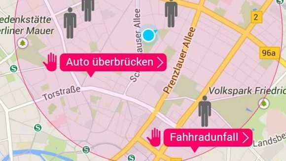 Friendly Berlin App Screenshot