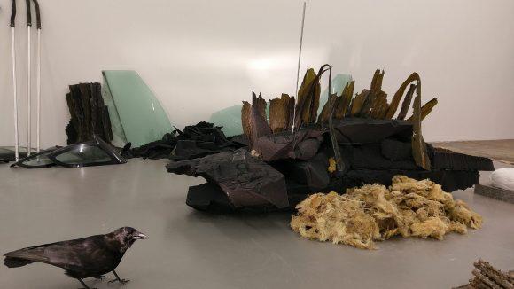 DAAD Galerie: Rauminstallation der koreanischen Künstlerin Minouk Lim. ©Nikolaus Triantafillou