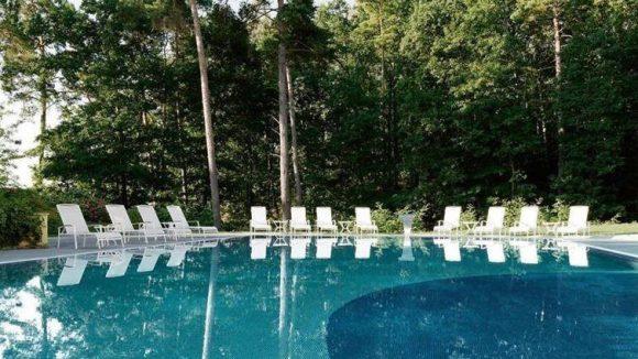 Das A-Rosa Ressort ist ein Wellness-Paradies mitten im Wald. ©A-ROSA Resort und Hotel GmbH