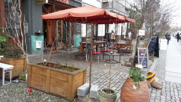 Das Café Krone. (c)Gerstung