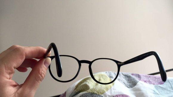 Das erste was Daniel Achilles morgens sieht ist seine Brille ©Daniel Achilles