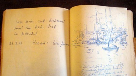 Das Gästebuch im Istanbul (c)Ludwig Heim