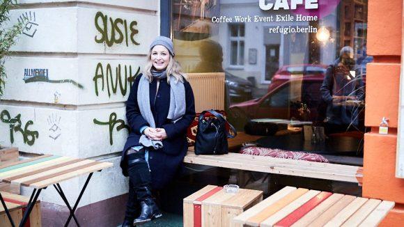 """Das Projekt """"Refugio Café"""" liegt Anna besonders am Herzen. ©Ralph Penno"""