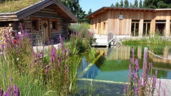 Das Schwapp-Wellness Paradies mit einer speziellen Sauna. ©Fritz / Schwapp
