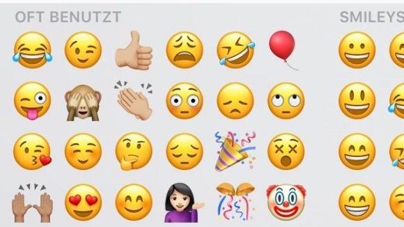 Das sind Chinos Lieblings-Emojis.