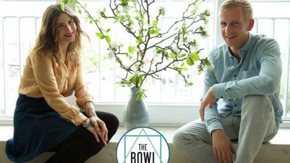 Das sind die beiden Geschäftsführer Jennifer und Christoph.