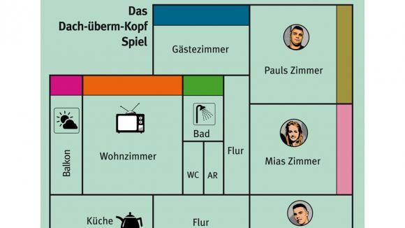 """Das """"Spielbrett"""". (c)Karuna e.V."""