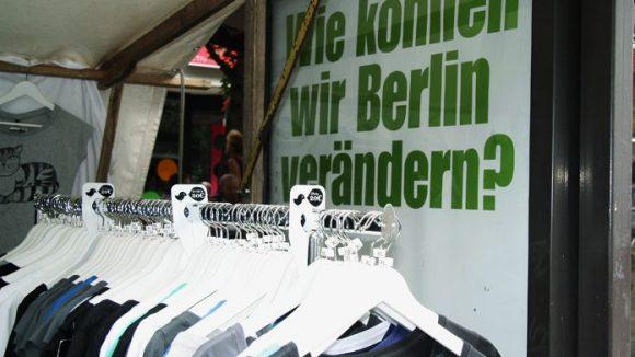 """Das war einmal: Beim Modefestival """"Wedding Dress"""" in der Brunnenstraße. ©Dominique Hensel"""