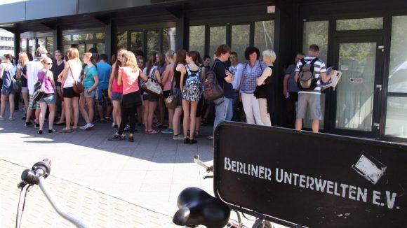 Der Eingang zu den Berliner Unterwelten ©Hensel