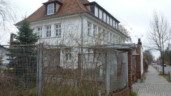 Der unscheinbare Firmensitz von Spice for Life in Weißensee.