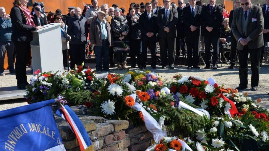 Heute friedlicher Ort der Andacht, vor 70 Jahren ein Ort der Menschenquälerei und Ermordung: das Klinkerwerk in Oranienburg.