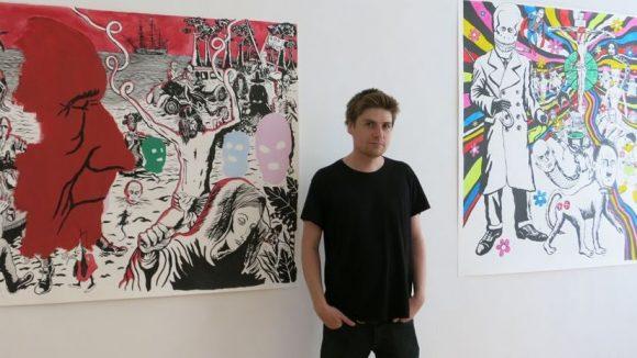 Der Künstler Neal Fox. (c)Ludwig Heim