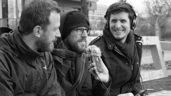 Die beiden Podcaster Stefan & Stephan, sowie ihr Gast Jesko Habert. Foto: Weddingweiser