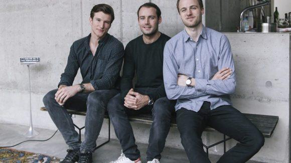 Die Gründer Nils, Max und Anthony (v. l.) von Sygns // (c) Robert Felgentreu