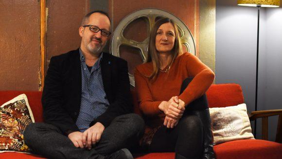 Die Inhaber vom Klick Kino Christos Acrivulis und Claudia Rische.
