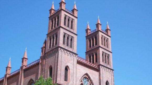 Die Türme der Friedrichwerderschen Kirche. (c) Robin Klapprodt