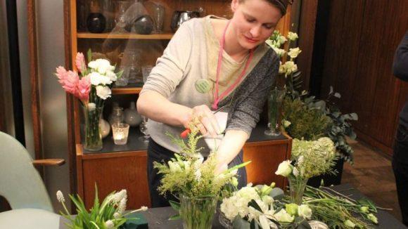 DIY Workshop mit der Floristin. ©Julia Wernicke