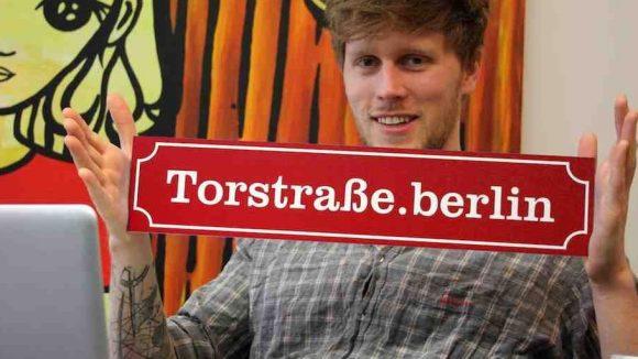 Richtig kiezige Domains wie etwa Torstraße.berlin sind ab sofort zu haben!